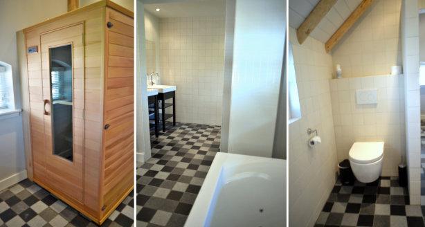 Badkamers - Accommodatie - Accommodatie het weideman ...